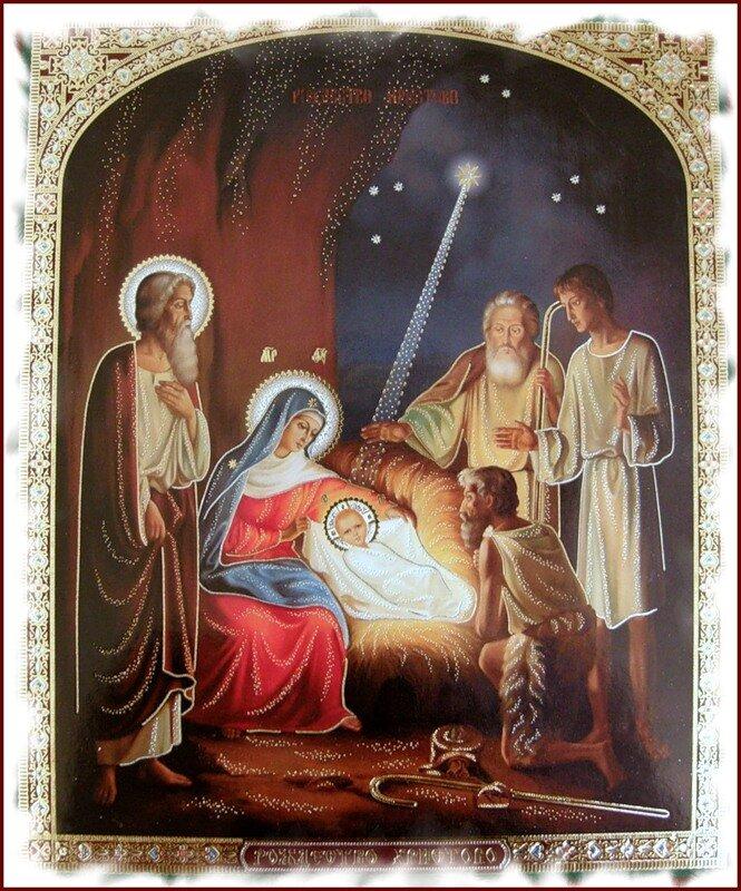 Рождественские церковные картинки