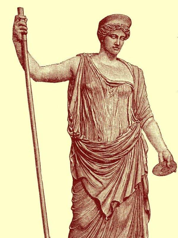 Открытку, картинки юнона богиня
