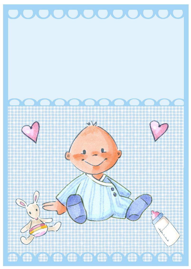 Открытка новорожденному мальчику нарисовать