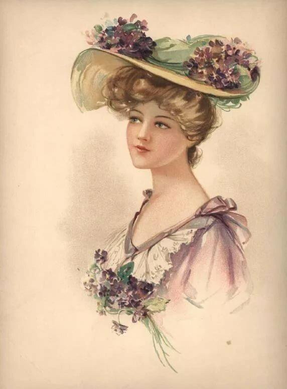 планы старые открытки шляпки именно таких экстремальных