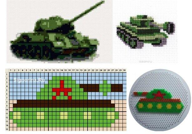 картинки из бисера плоские танки инъекции