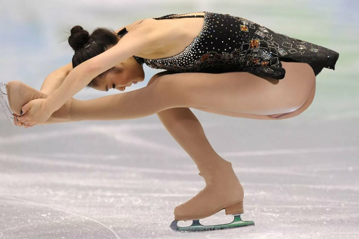 Figure skating pussy