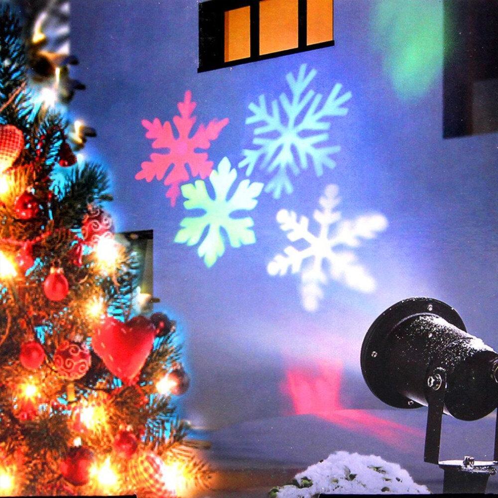 Лазерный проектор для Рождества в Петропавловске