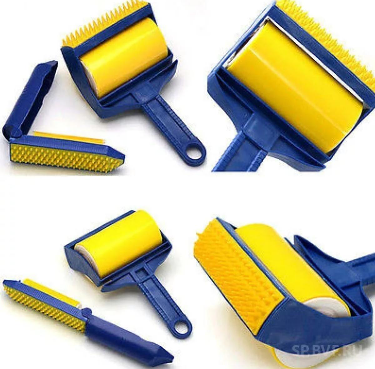 Sticky Buddy - Набор профессиональных силиконовых валиков для уборки в Одинцово