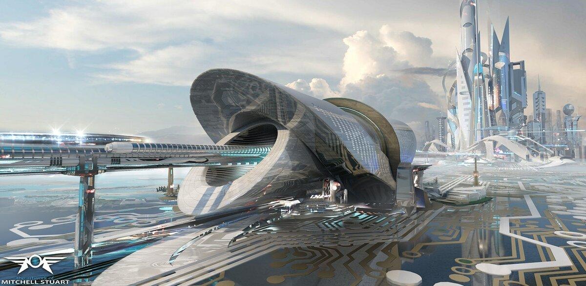 Проект город будущего в картинках
