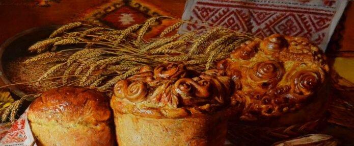 В этот день принято освящать символы праздника: полотно, хлеба