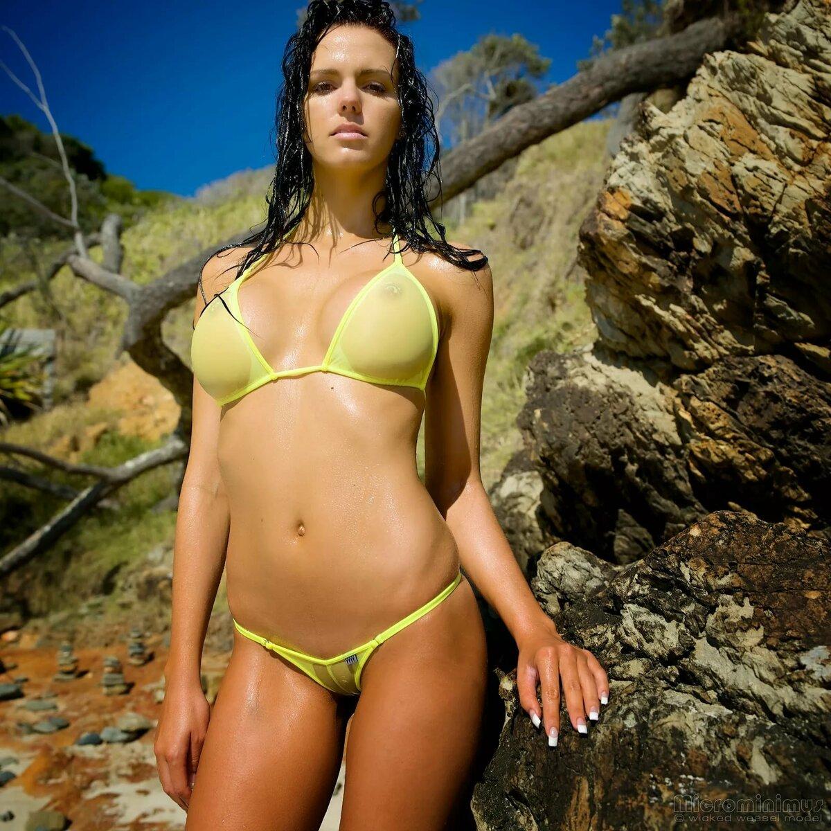 Wild weasel women bikini