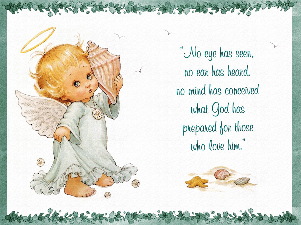 Открытки с днем рождения ангелы хранитель, зарубежные