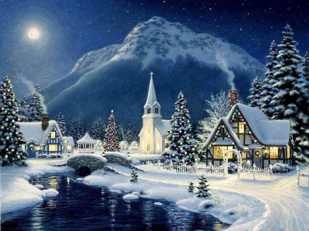 Анимированная, красивые картинки с рождеством христовым и новым годом