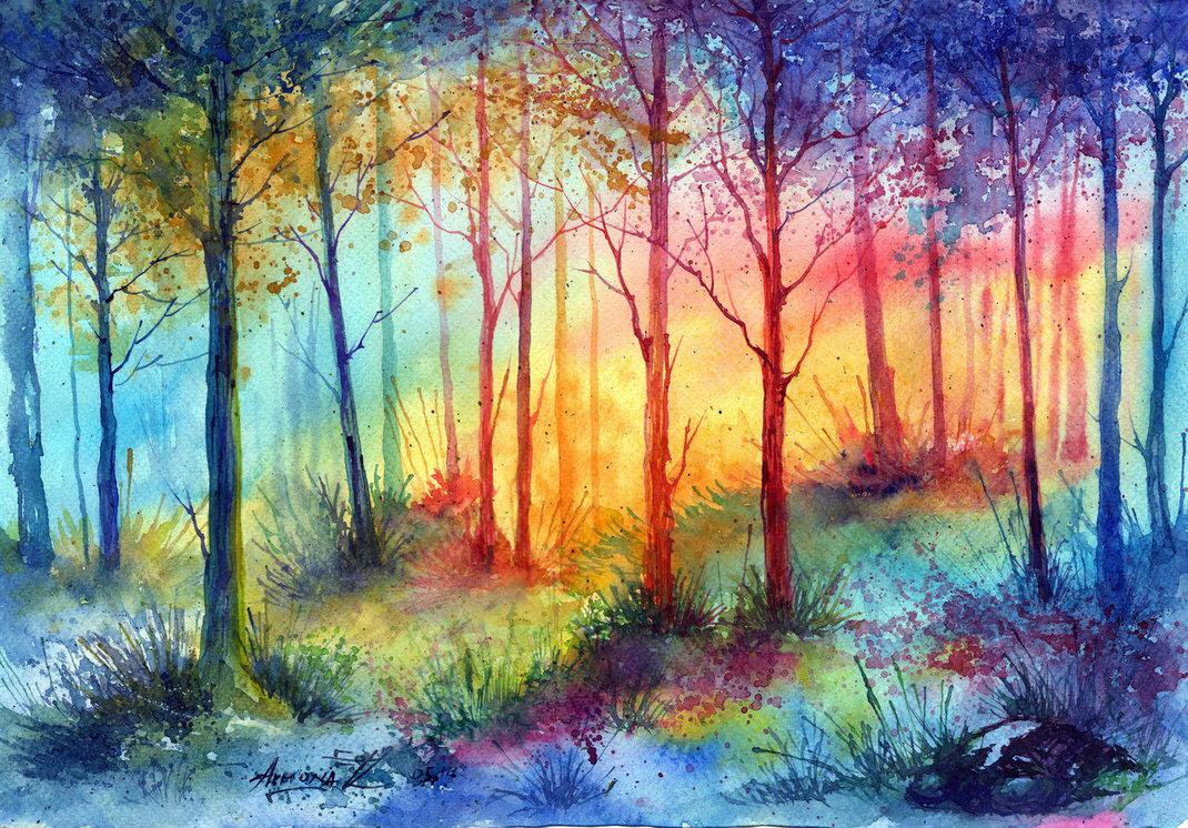 Картинки акварельная живопись, картинки бизнес