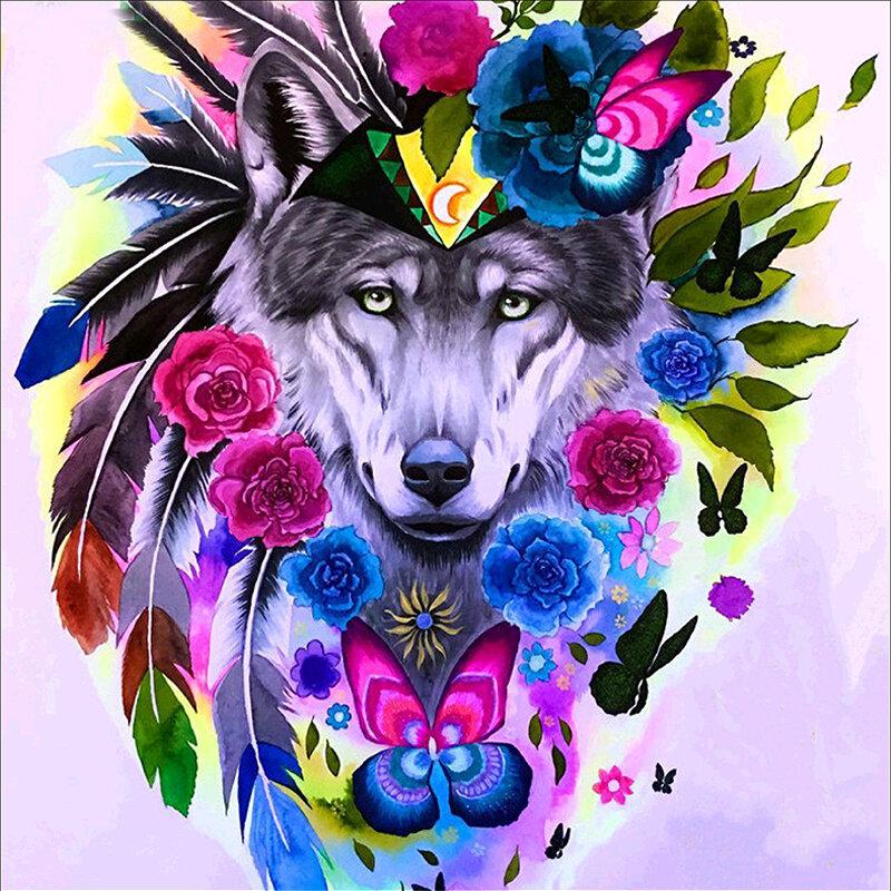 картинки волк с розами вал ротора