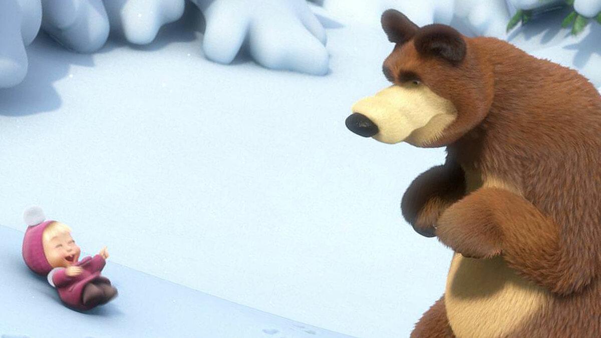 картинки про машу медведь