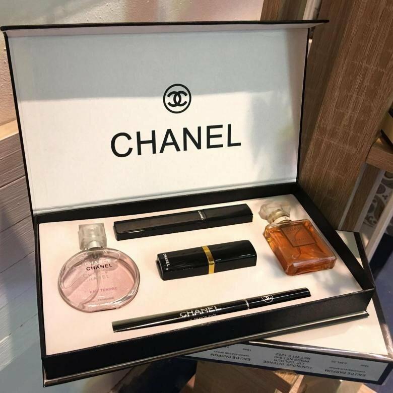 Chanel Present Set набор 5 в 1 в Екатеринбурге