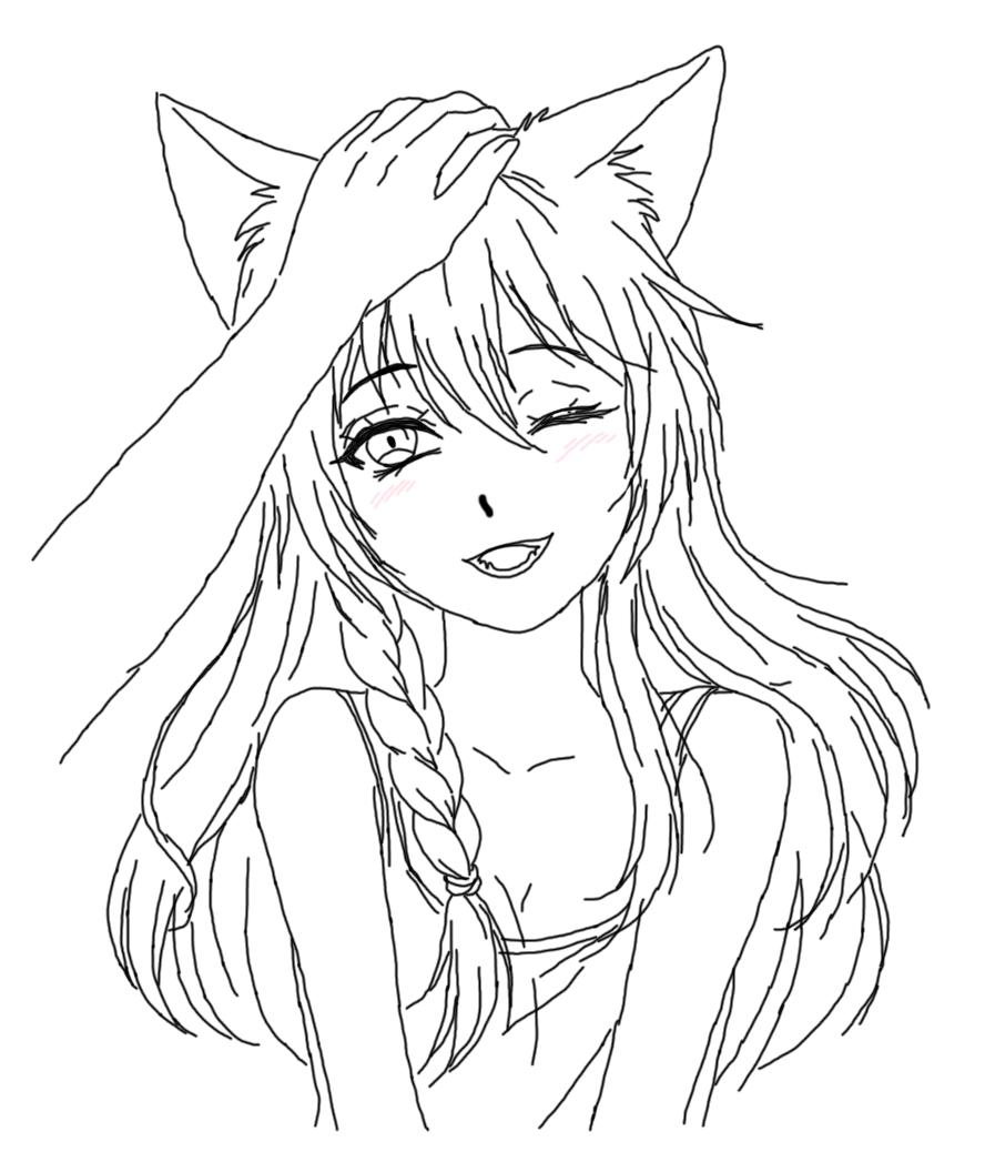 Крутые рисунки аниме для срисовки
