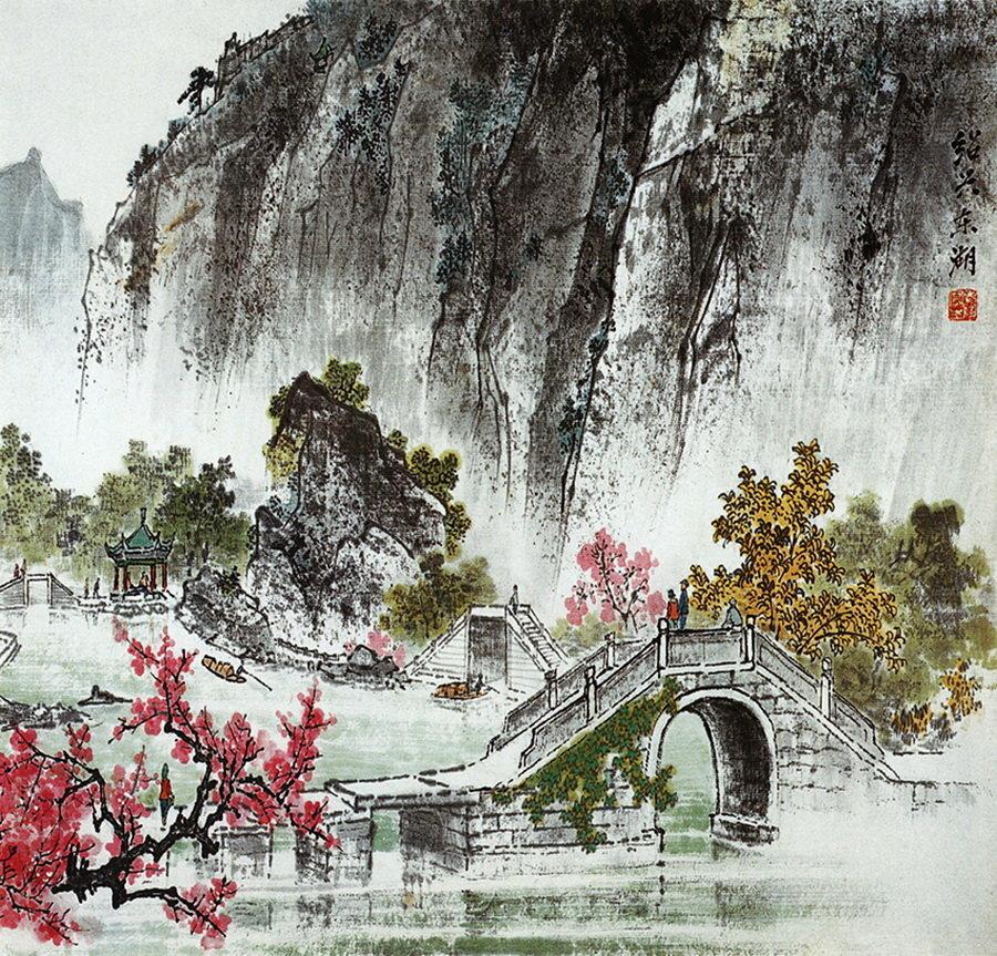 Картинки японская акварель