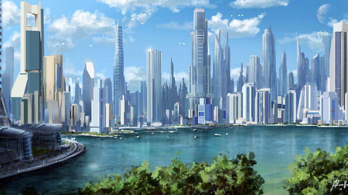 Картинки страны будущего