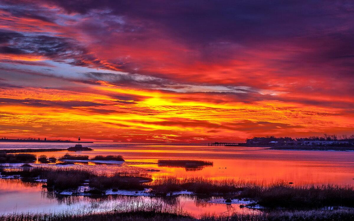 картинки природа закаты