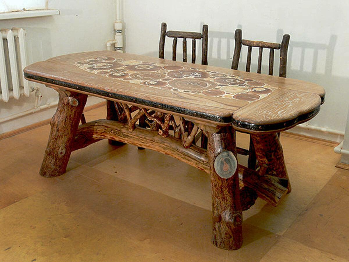 столы деревянные из массива ручной работы фото крем