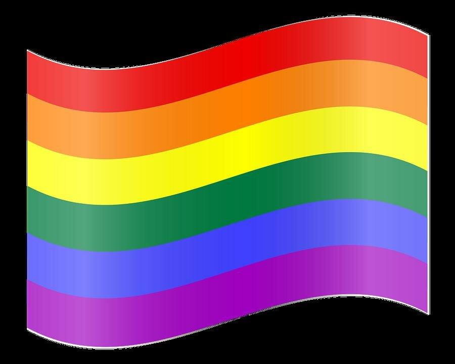 картинки радужного флага самом