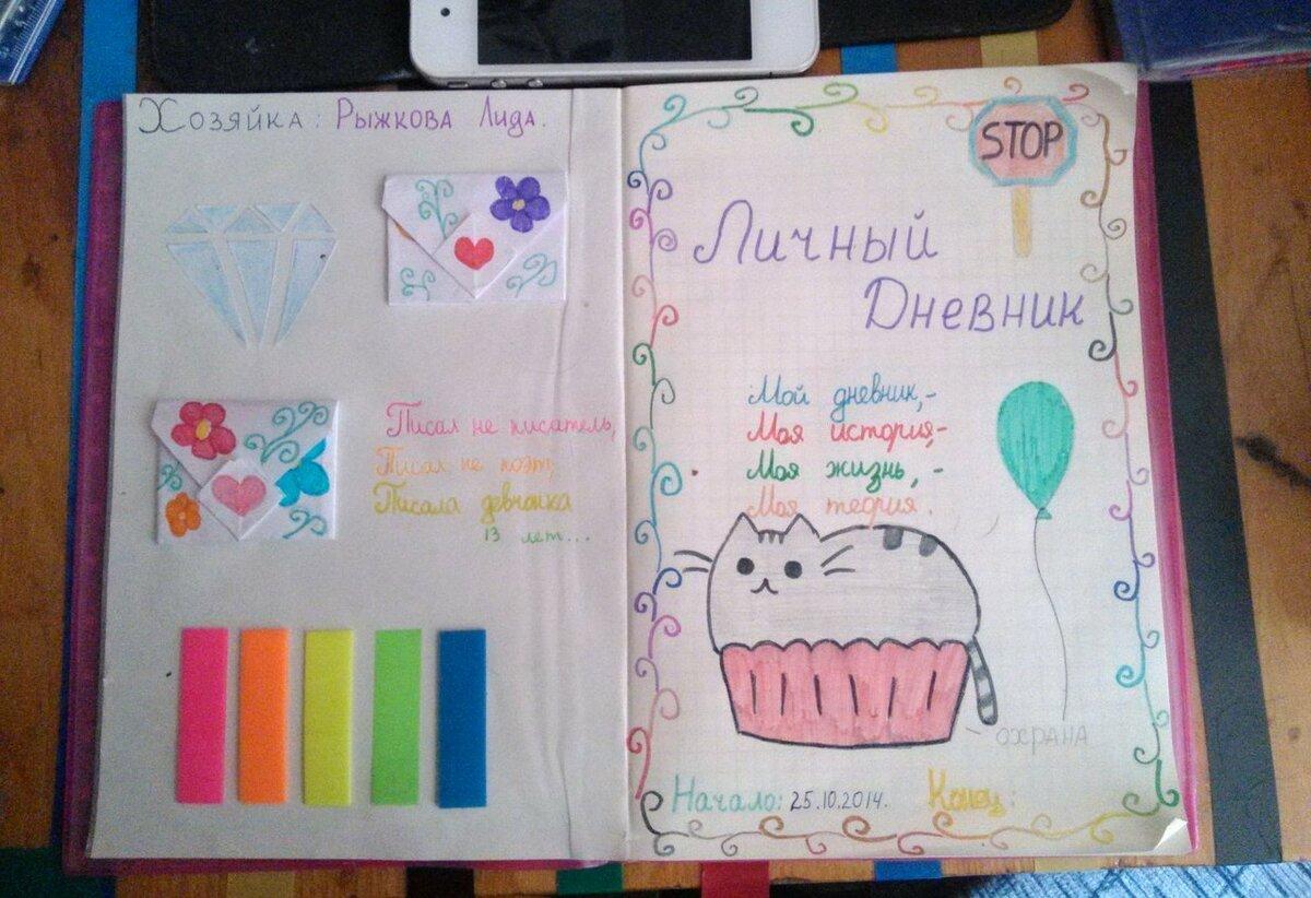 активно картинки оформления личного дневника легкие время извлекаем