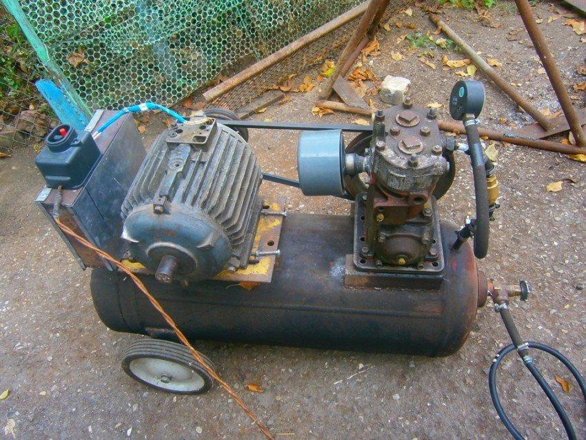 компрессор из электродвигателя своими руками