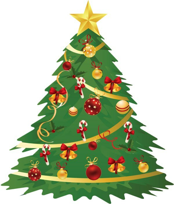 Новогодние елки картинки для детей