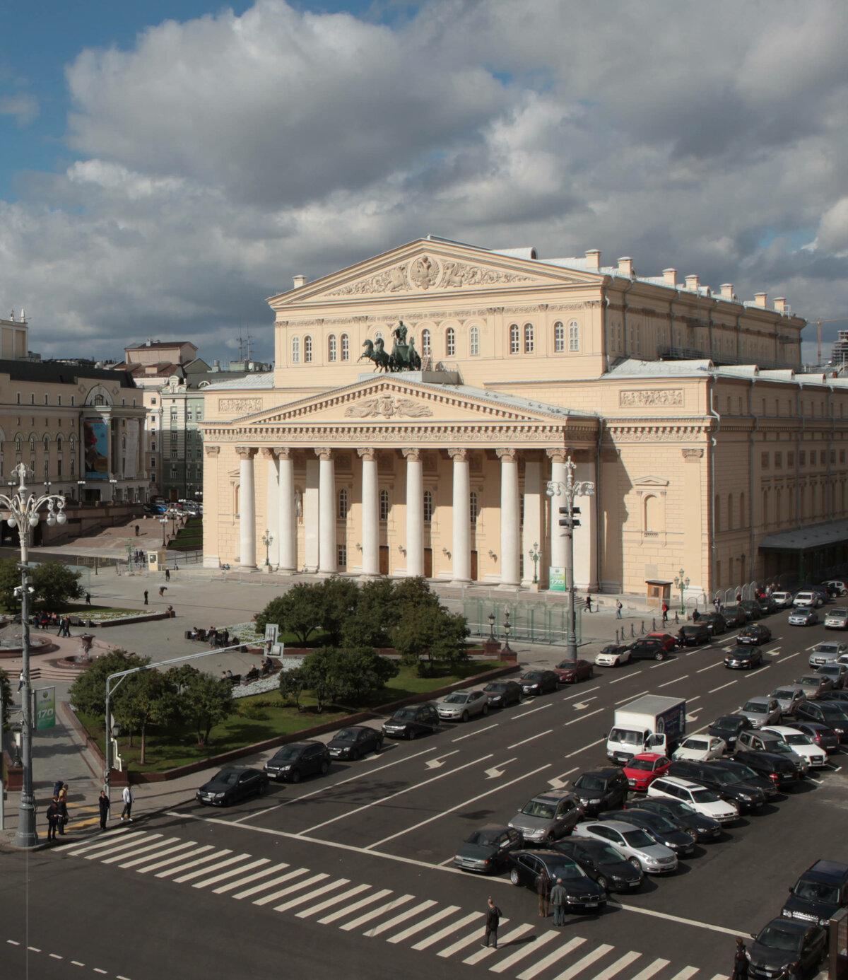 Картинки здание большого театра в москве