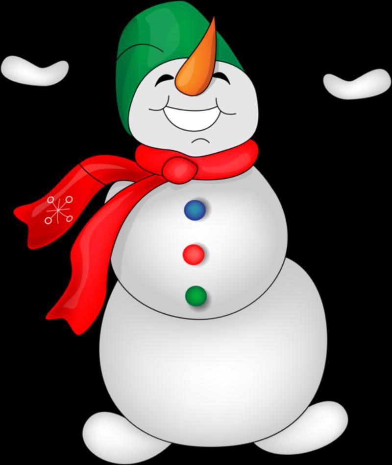 Картинка снеговик прозрачный фон