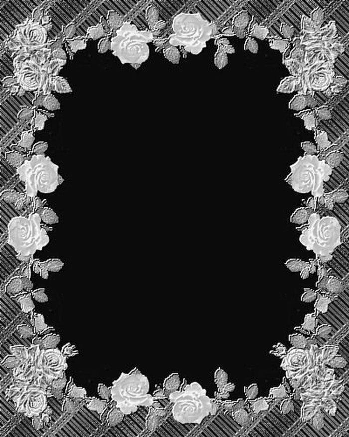 вставить фото черно белые рамки условие
