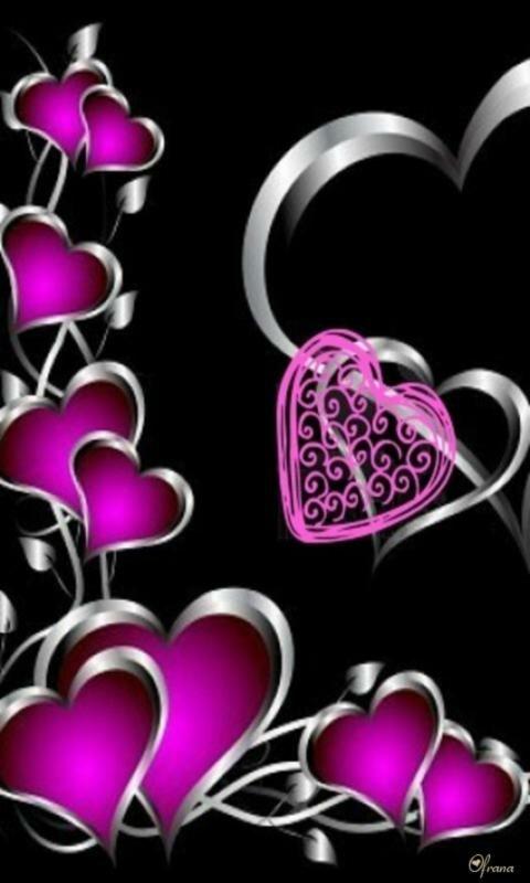 Закачать картинки на телефон красивые сердечки
