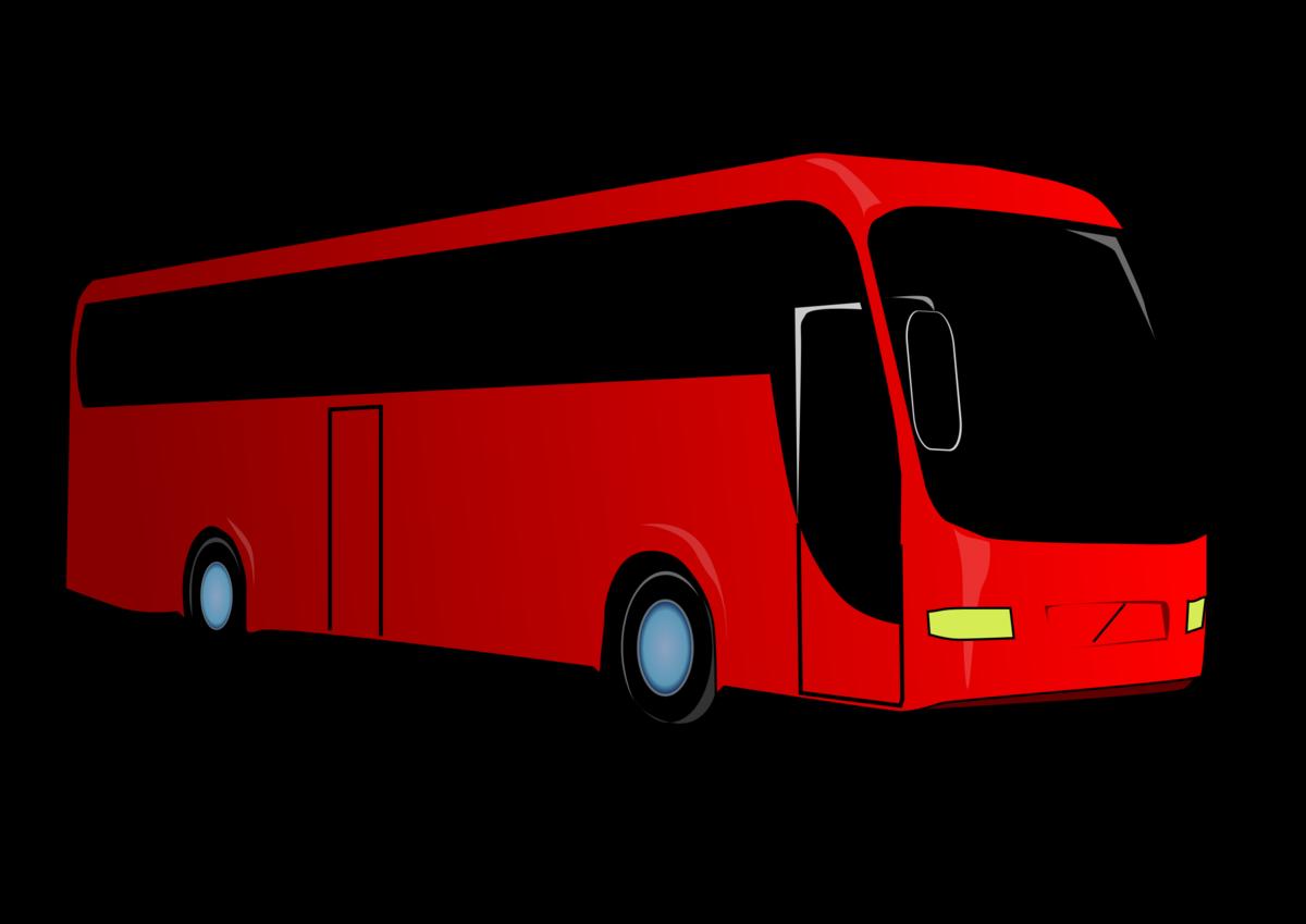 втором рисунок автобус картинка это