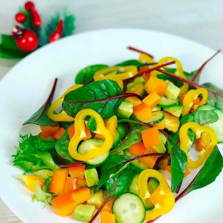 постные салаты на праздник рецепты с фото год