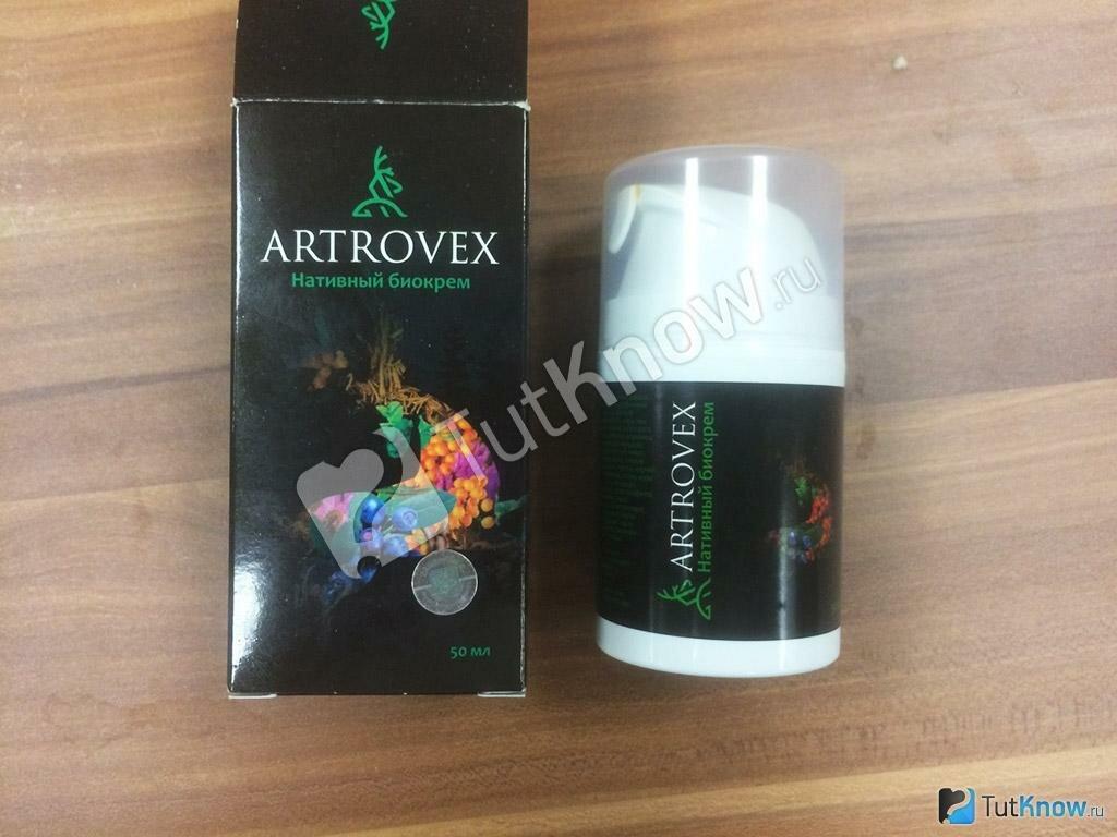 Artrovex - биокрем для суставов