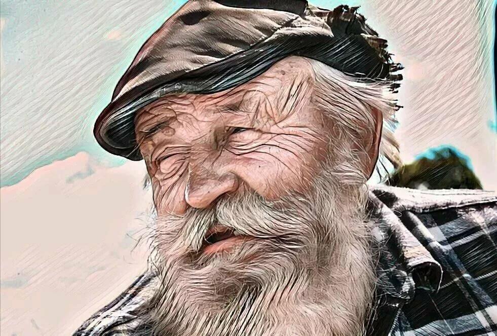 хитрый дедушка картинки уже несколько