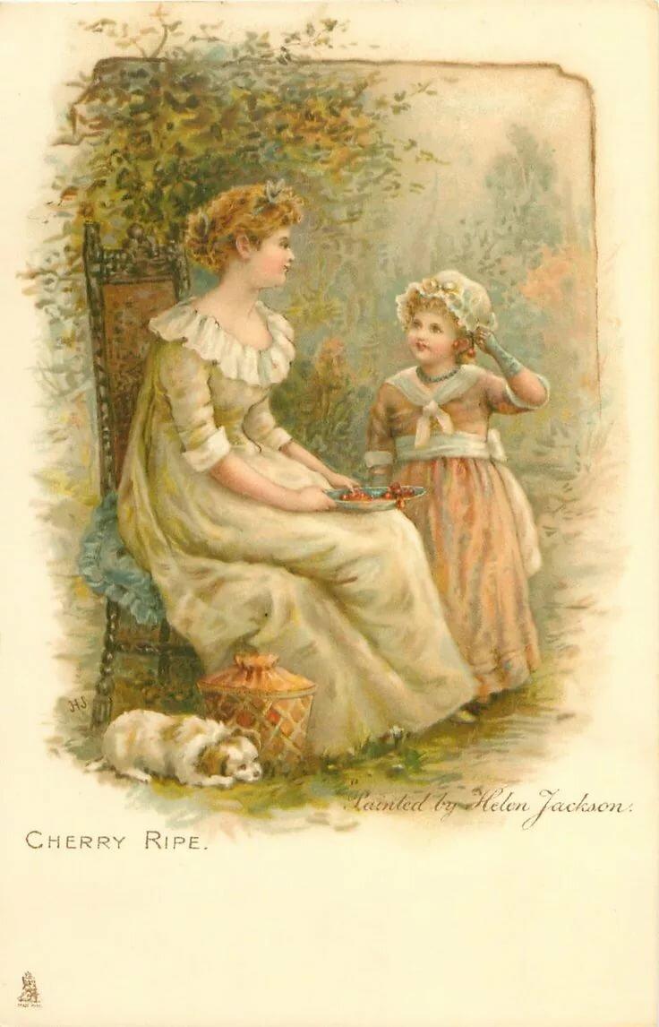 Благословенной, открытки с днем рождения дочери для мамы ретро