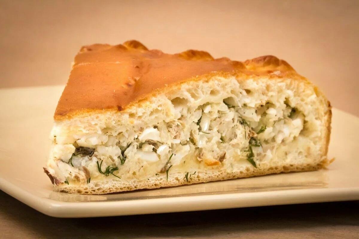 Пироги рыбные рецепты с фото