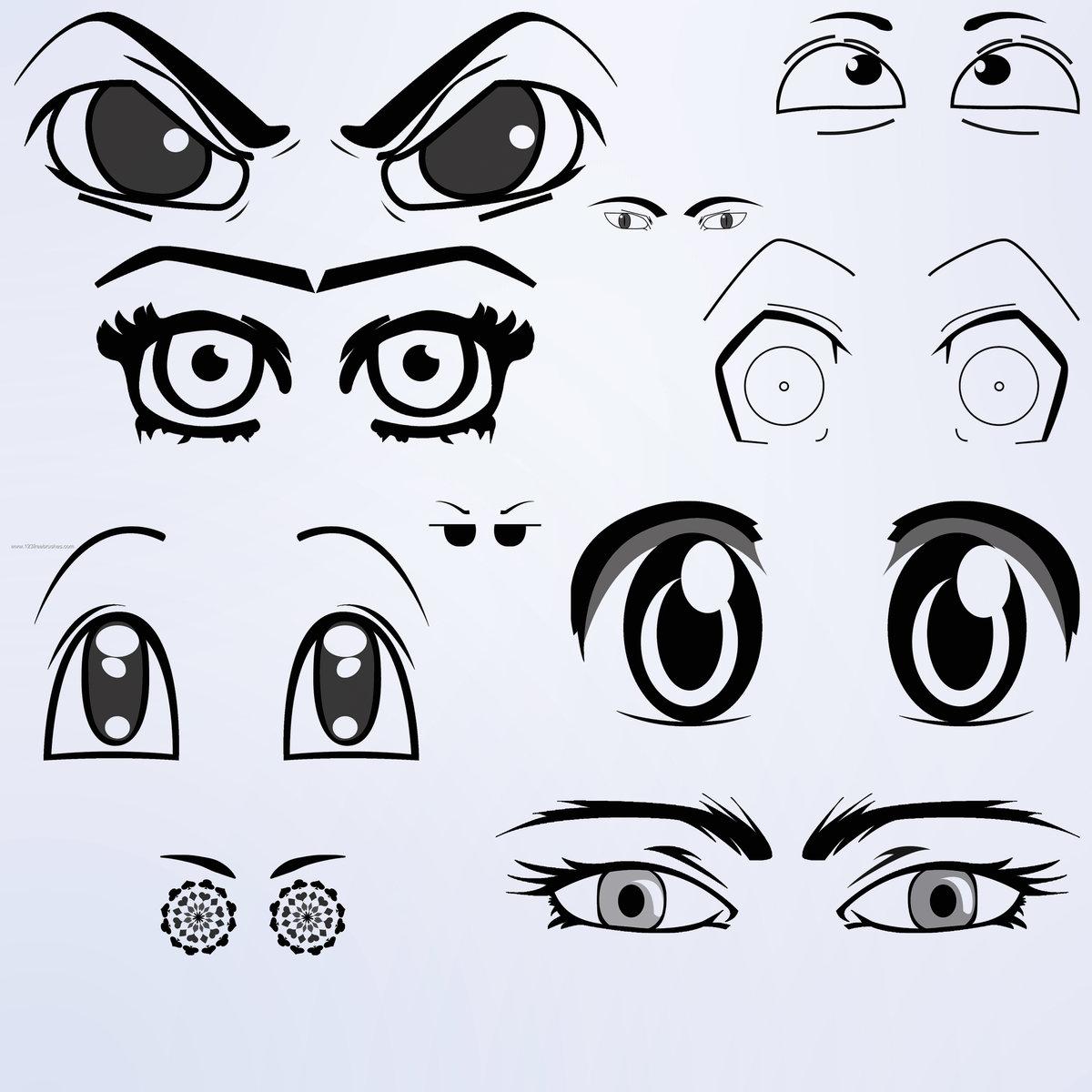 Открытки спокойной, рисунки глаз прикольные