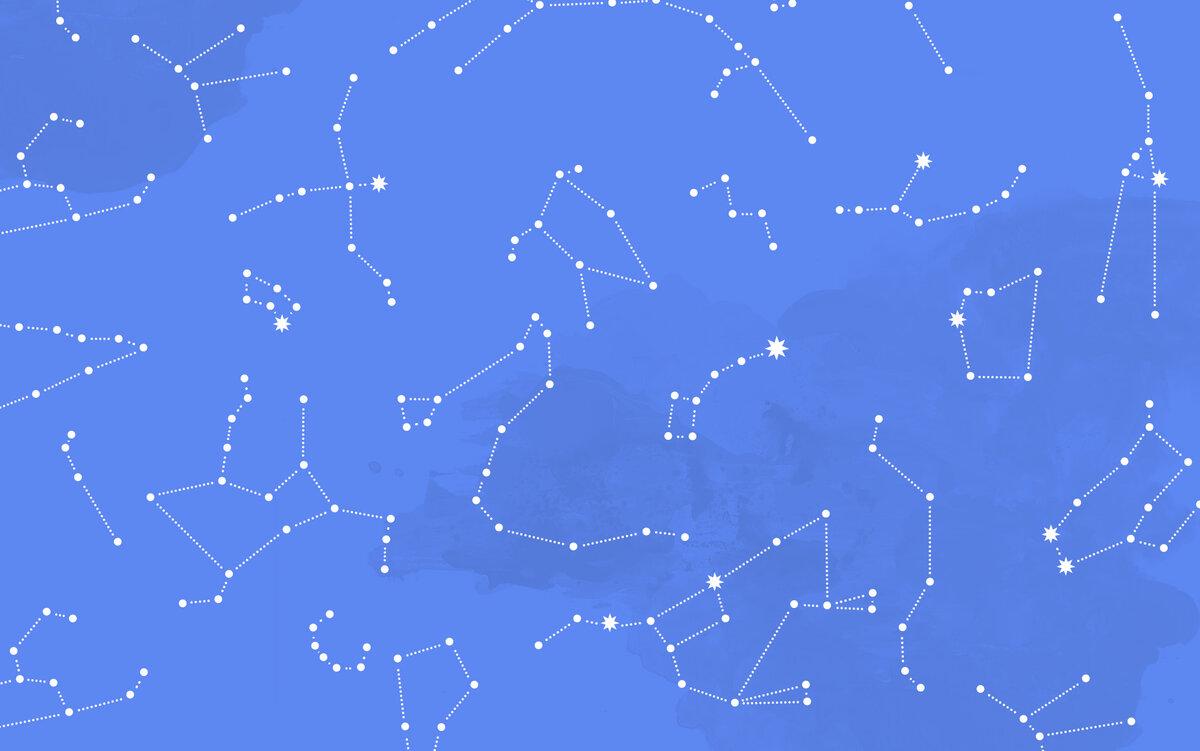 Детские картинки созвездий