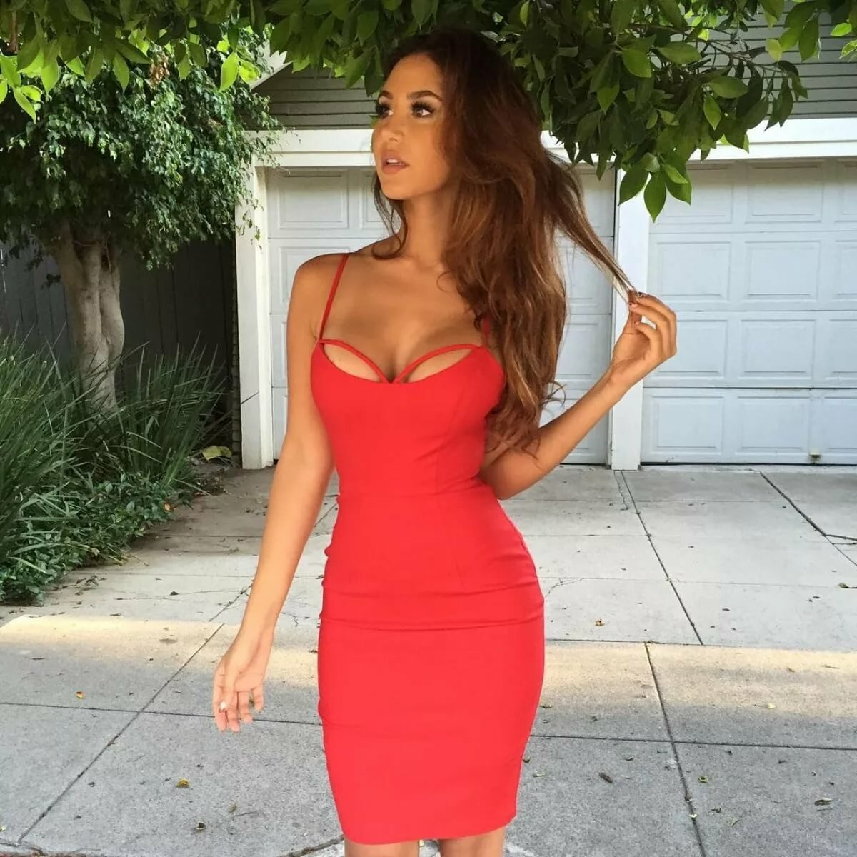 Обтягивающее красивое платье картинки