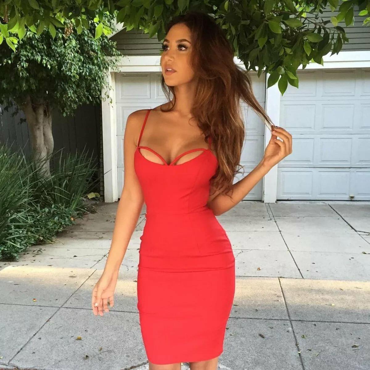 вопрос платье короткое в обтяжку фото любит