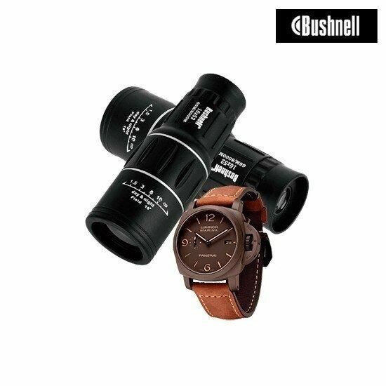 Монокуляр Bushnell и часы Panerai в Миассе