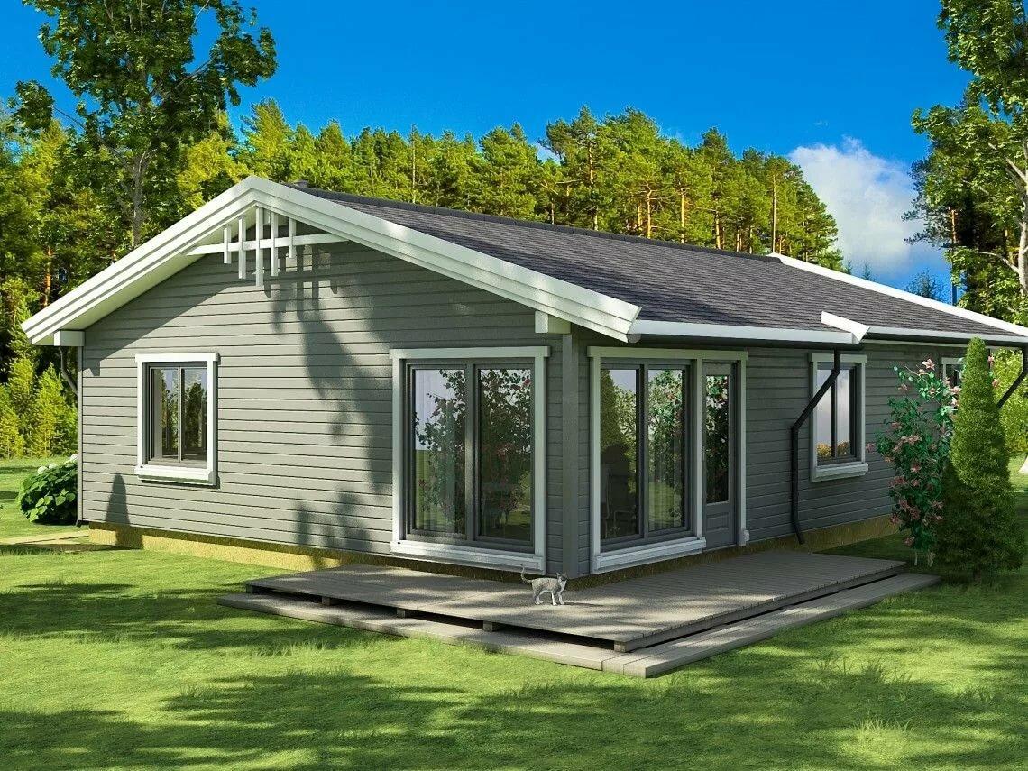 построить дом 50 кв м цена