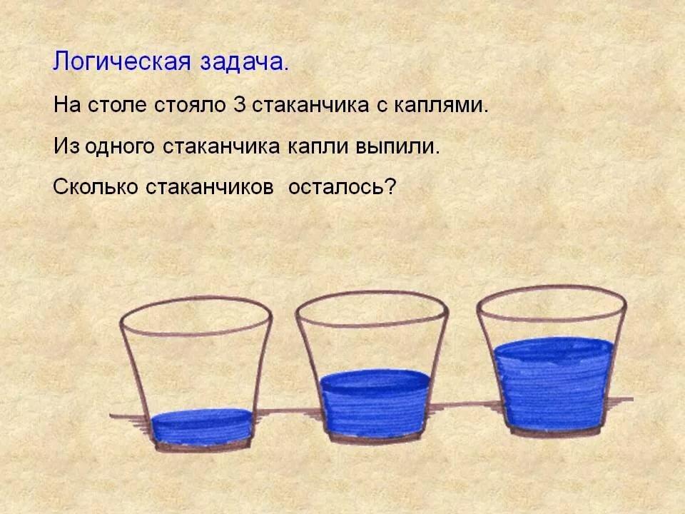 Интересные задачки в картинках на логику с ответами