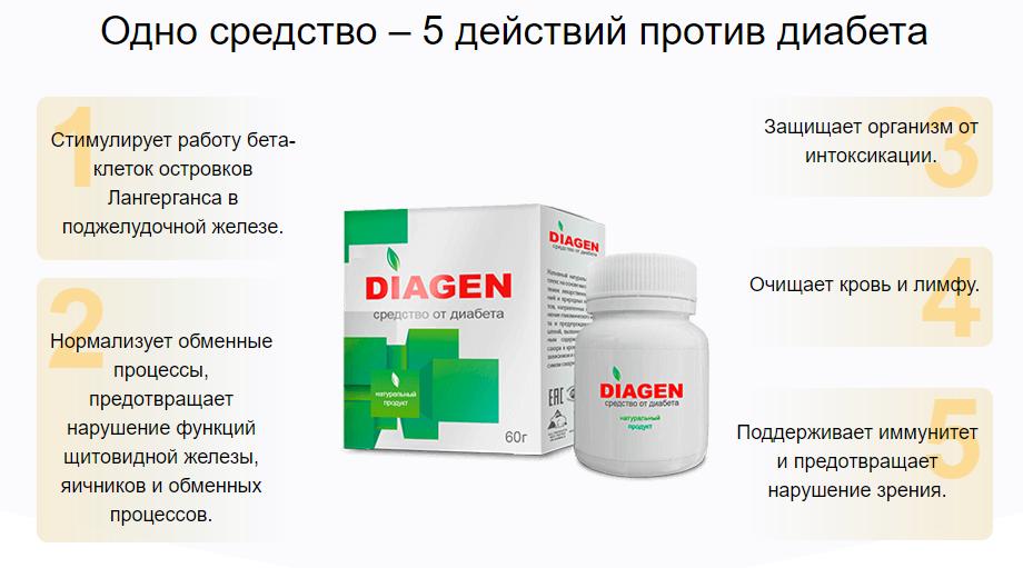 Diagen от диабета в Семее