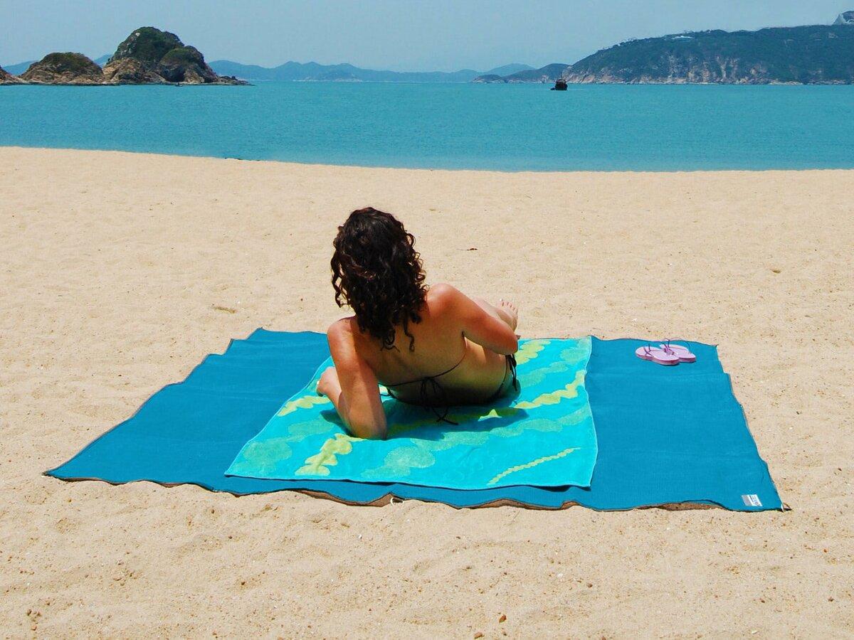 Пляжная подстилка ClapSand анти-песок в Тамбове