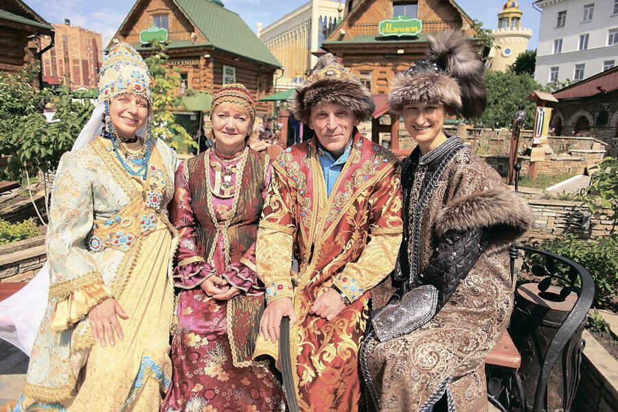 татары в своих костюмах фото для