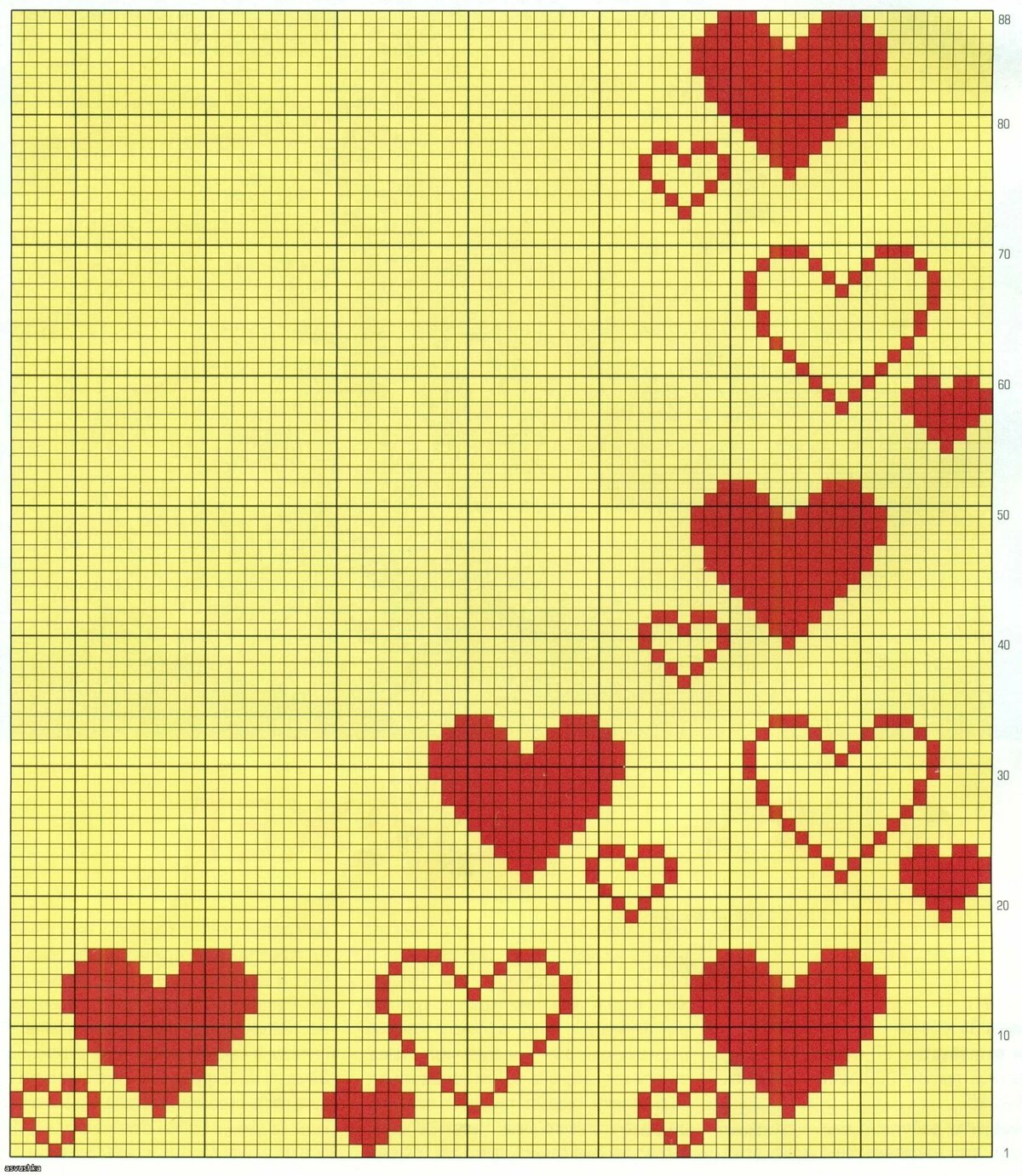 Красивые открытки, как вышивать сердце на открытке