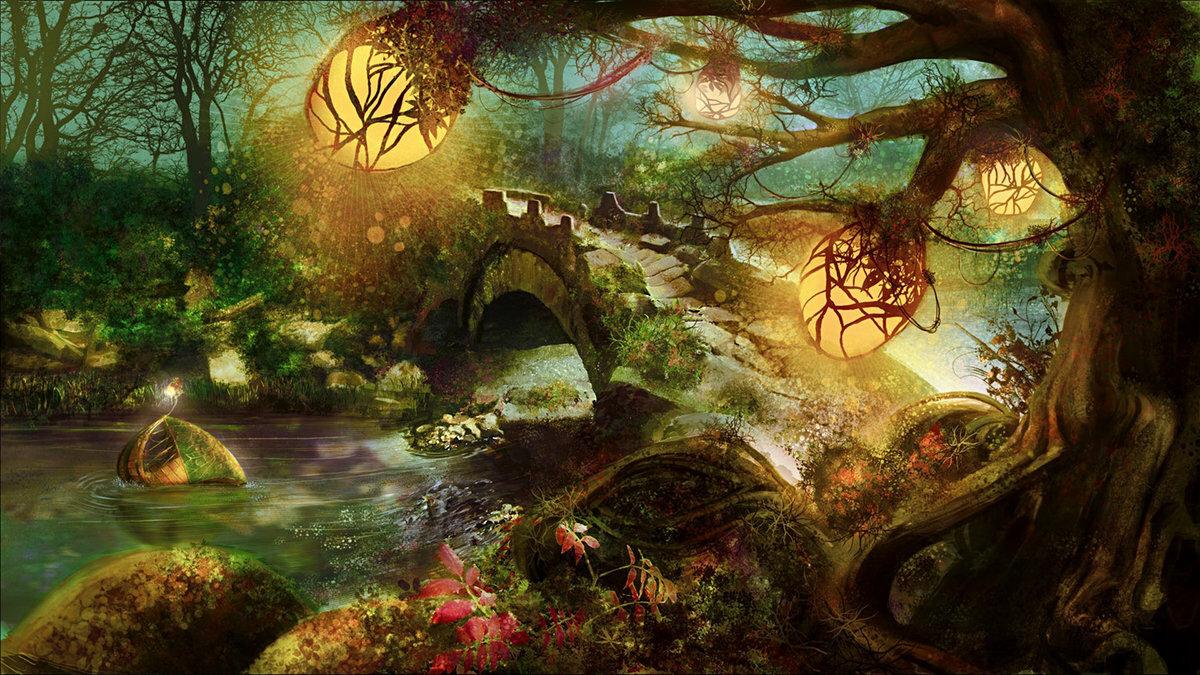 красивые мистические открытки является
