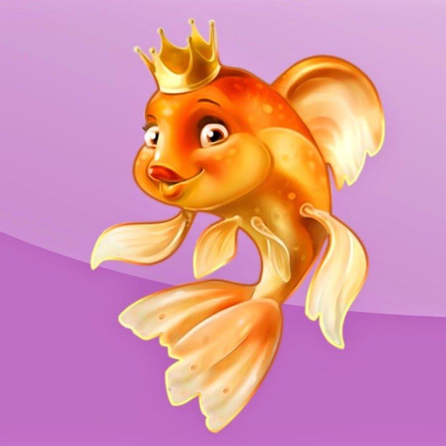 слова картинки про рыб из сказок приходит выручку