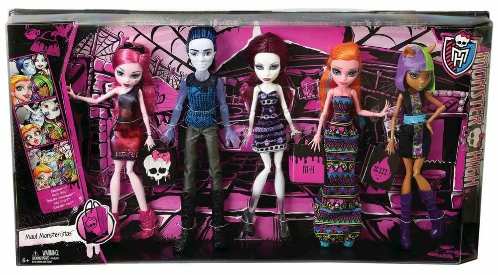 Картинки куклы монстр хай в коробке